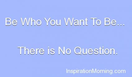 Morning Inspiration September 7, 2012
