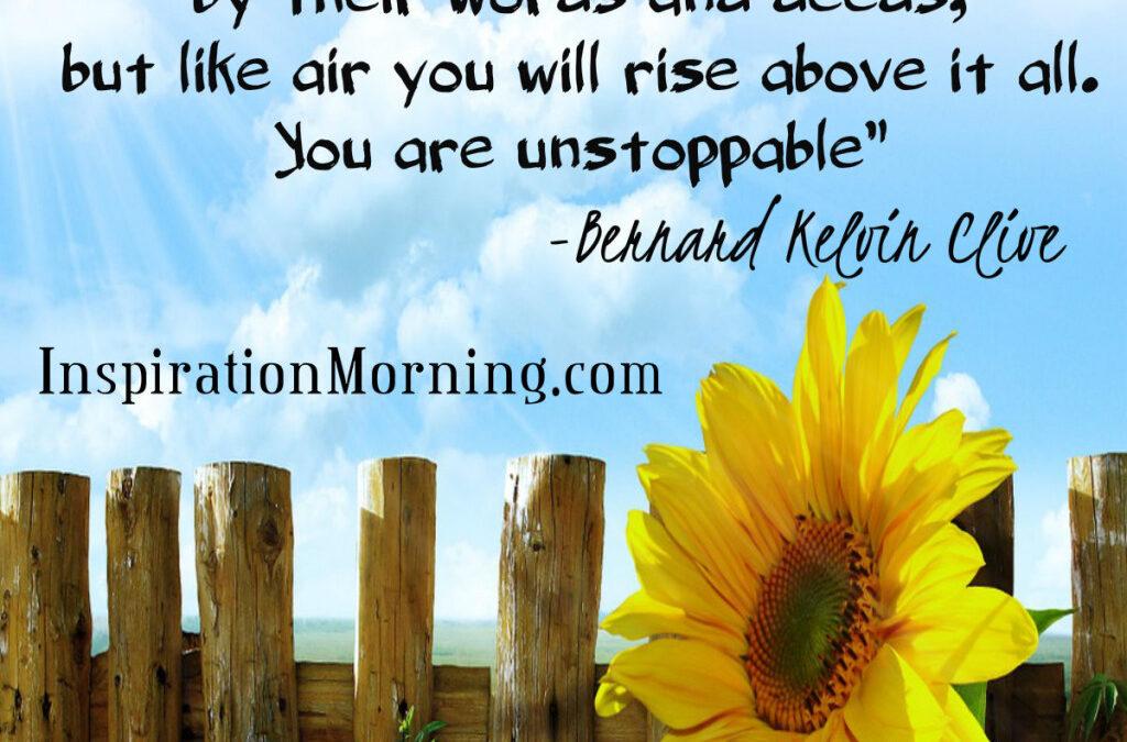 Morning Inspiration May 29, 2016