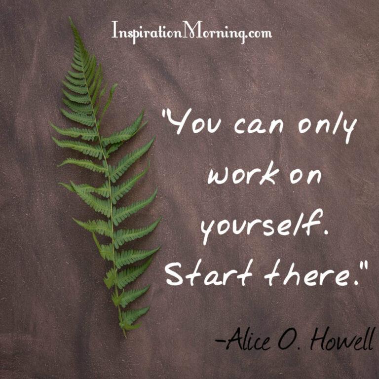 Morning Inspiration February 15, 2017