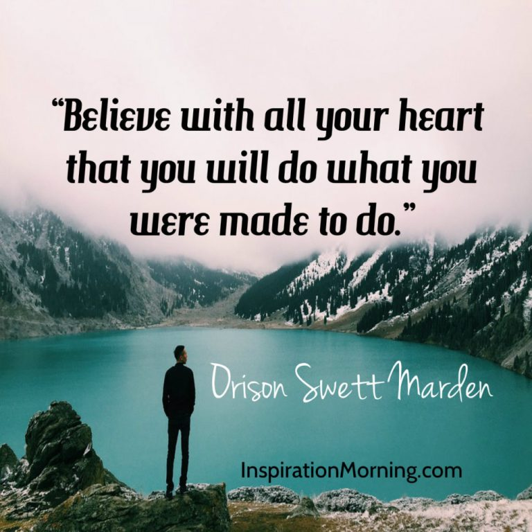 Morning Inspiration February 19, 2017