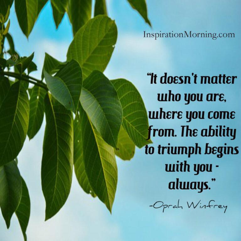 Morning Inspiration February 22, 2017