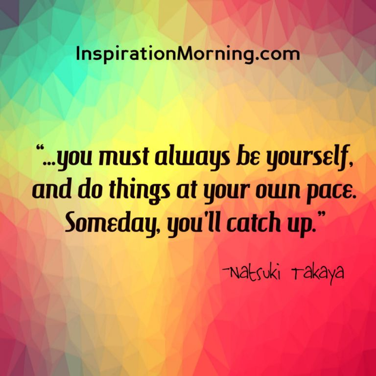 Morning Inspiration March 6, 2017