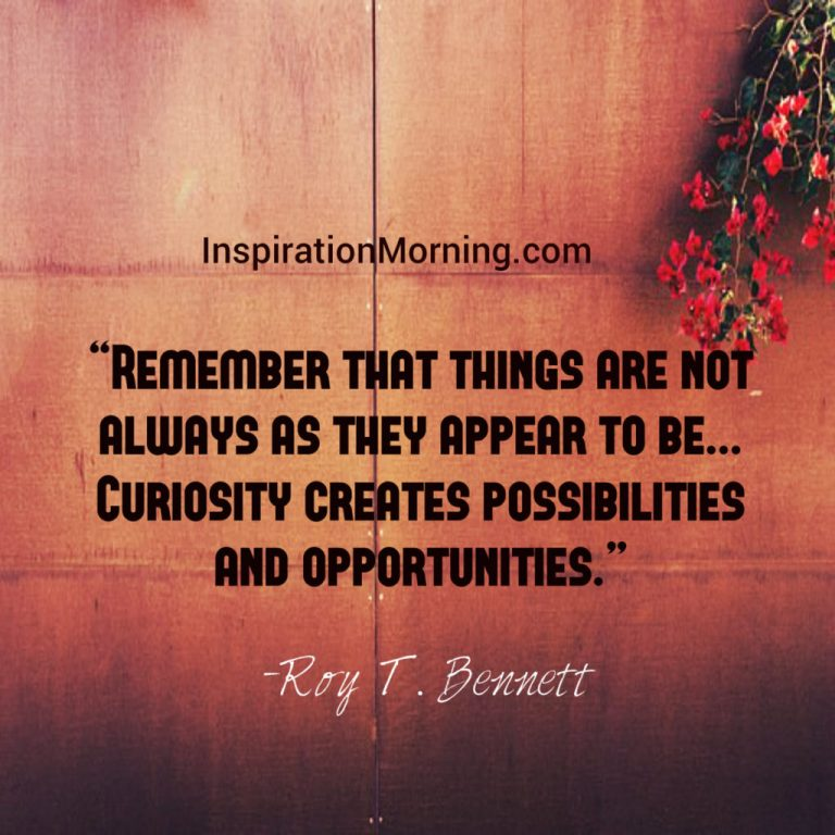 Morning Inspiration March 7, 2017