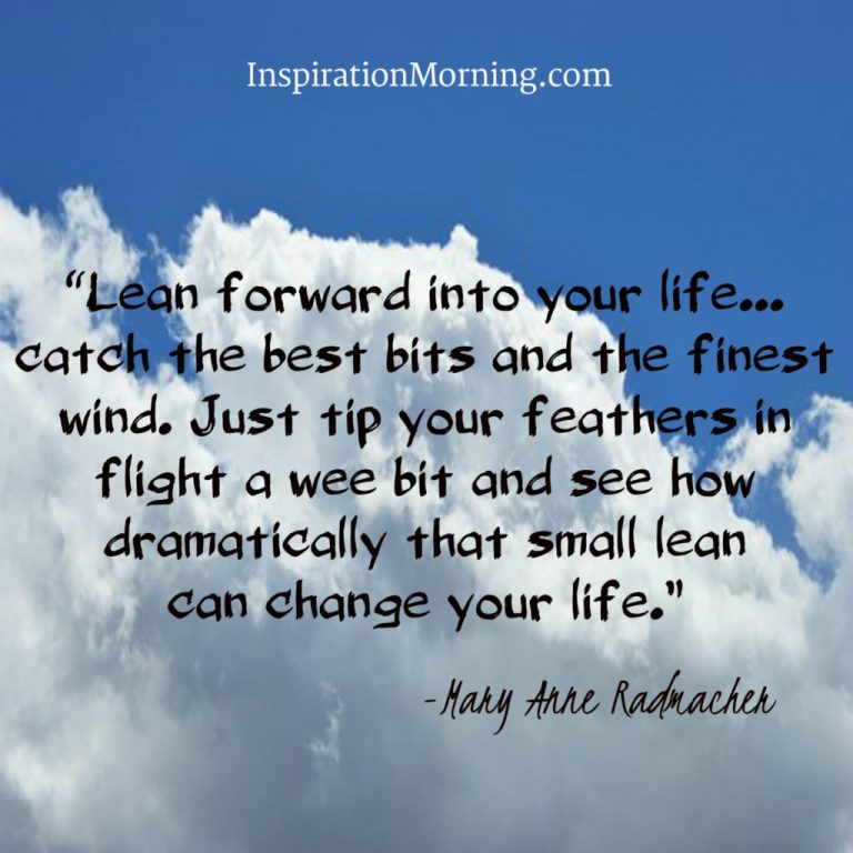 Morning Inspiration March 8, 2017