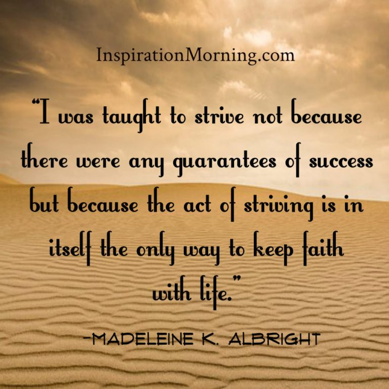 Morning Inspiration March 21, 2017