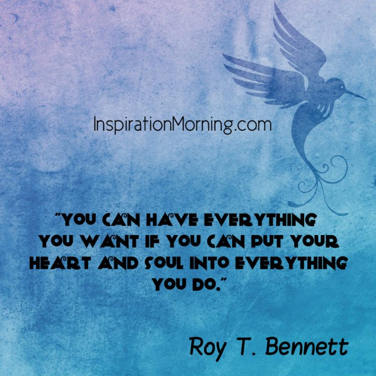 Morning Inspiration April 13, 2017