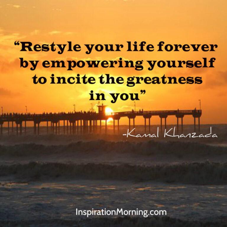 Morning Inspiration April 23, 2017