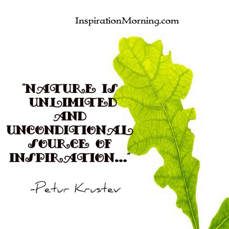 Morning Inspiration April 24, 2017