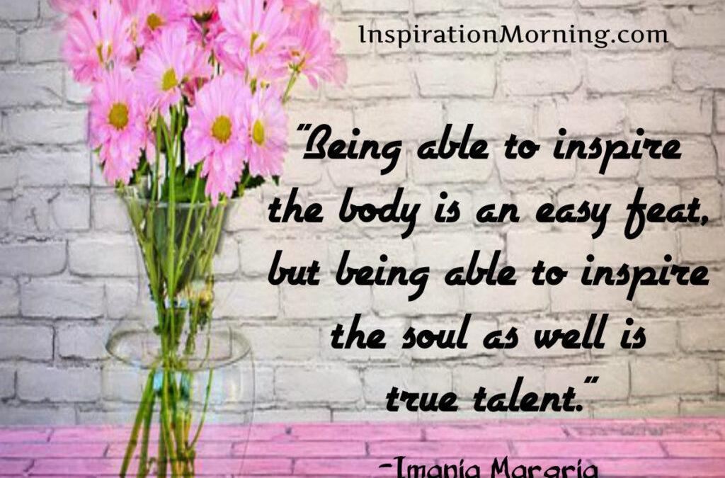 Morning Inspiration May 22, 2017