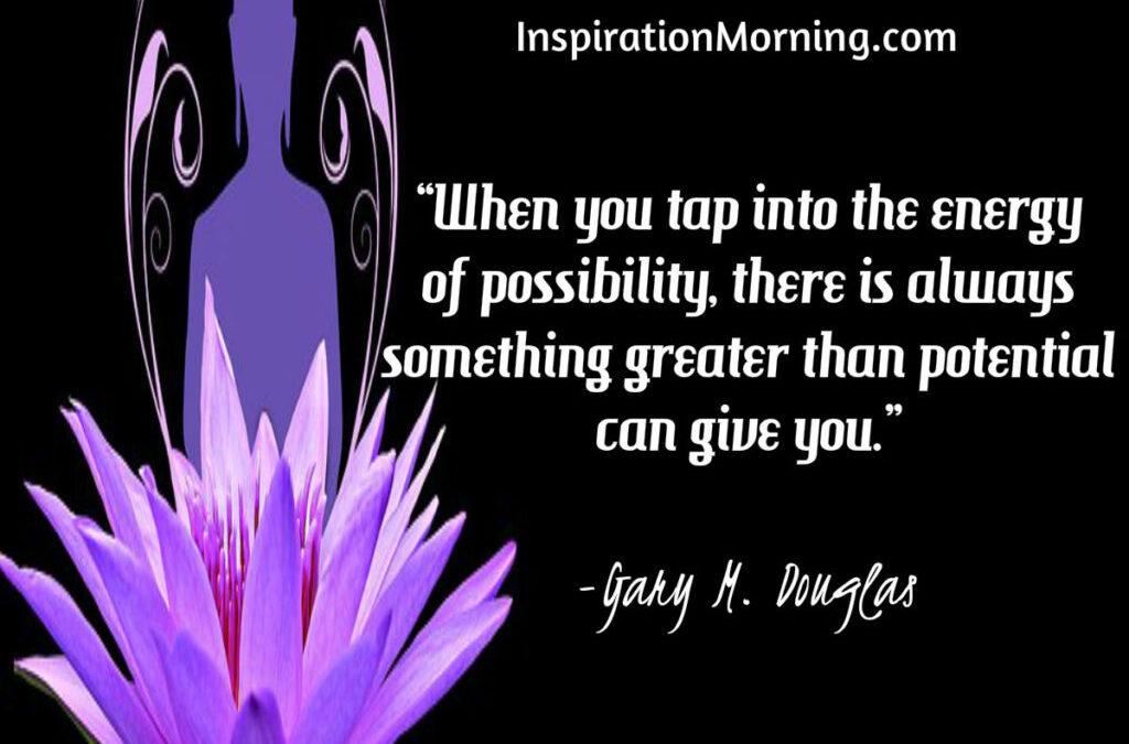 Morning Inspiration May 25, 2017