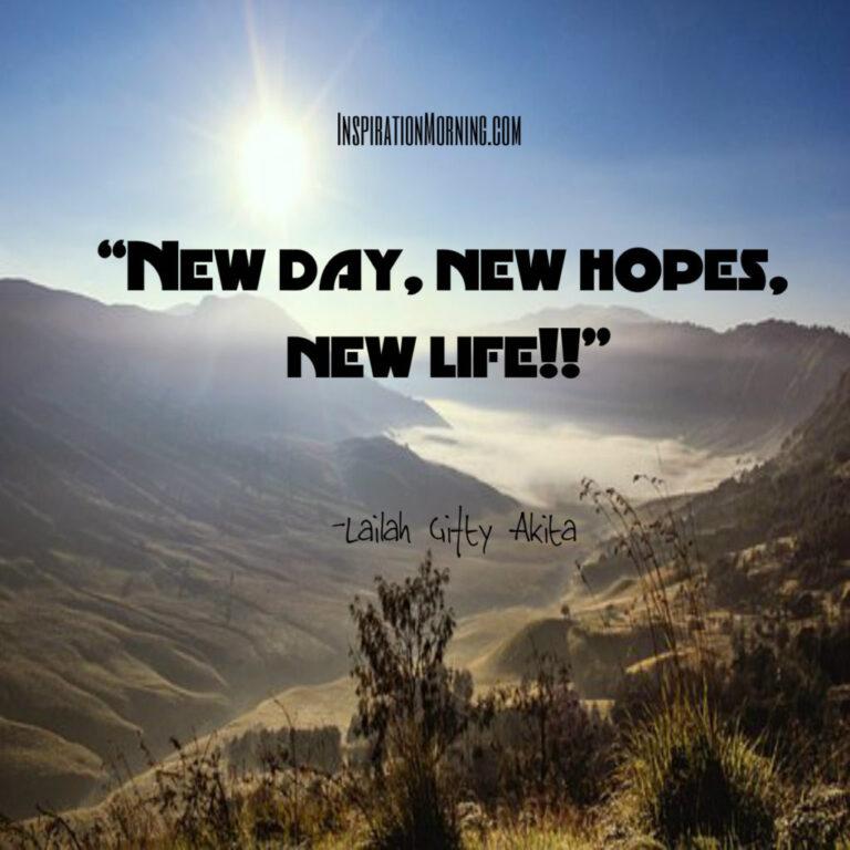 Morning Inspiration June 4, 2017