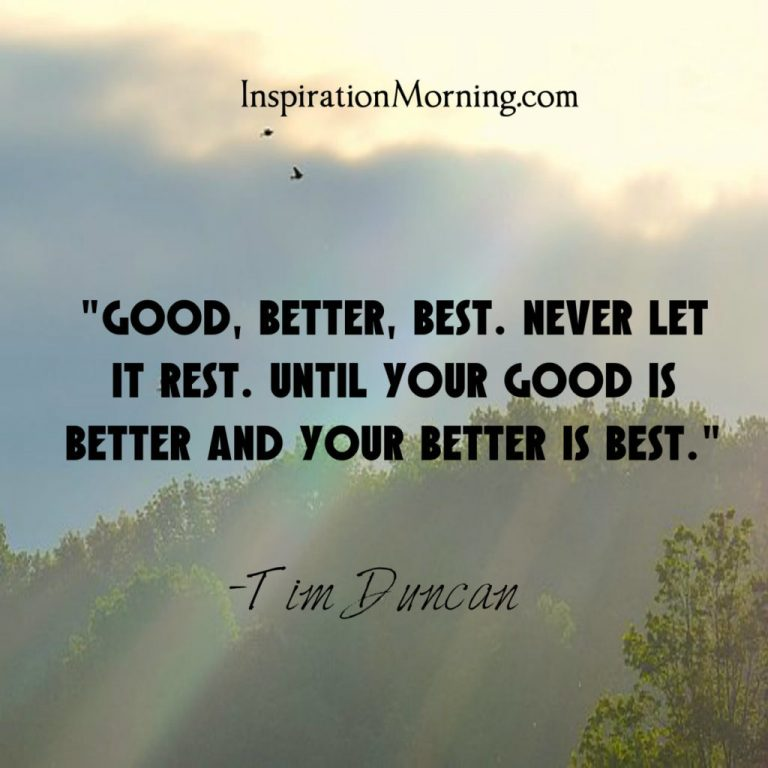 Morning Inspiration July 23, 2017