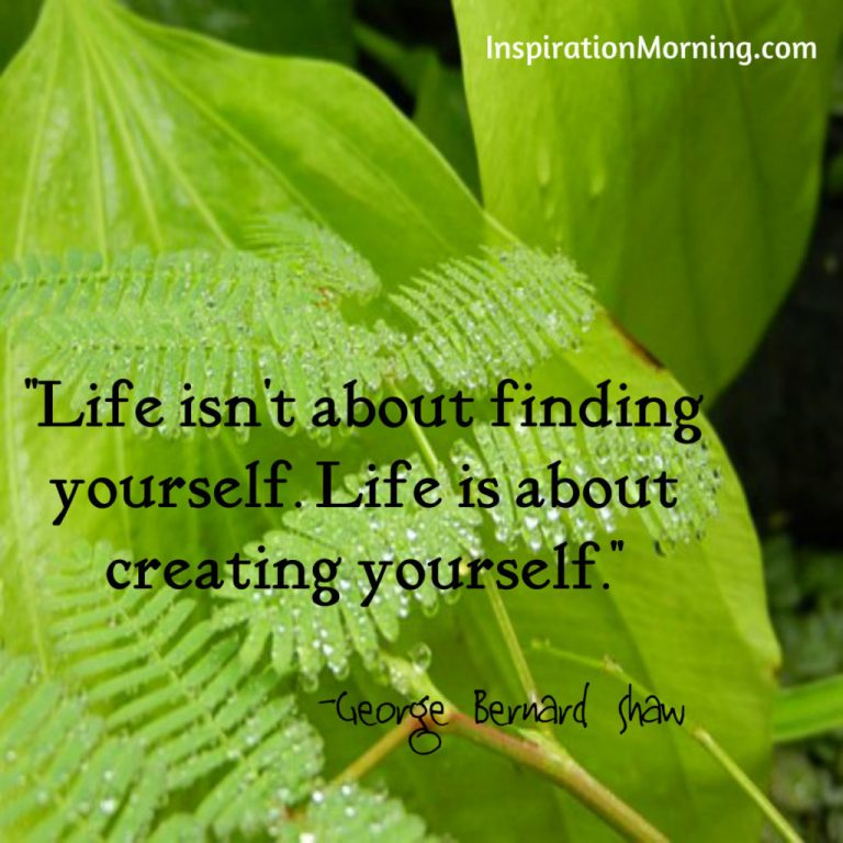Morning Inspiration August 17, 2017