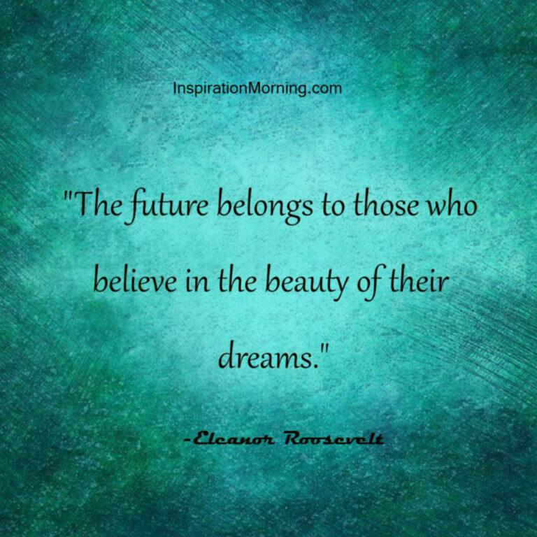 Morning Inspiration September 24, 2017