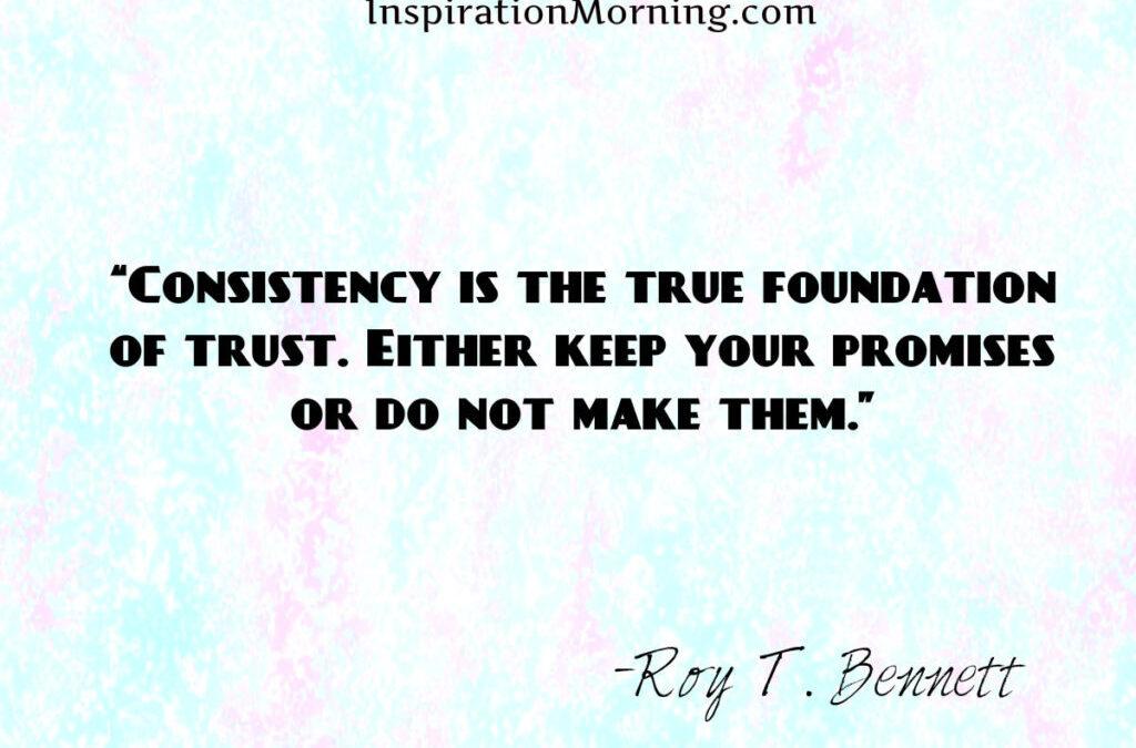 Morning Inspiration October 20, 2017