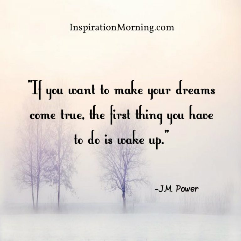 Morning Inspiration November 11, 2017