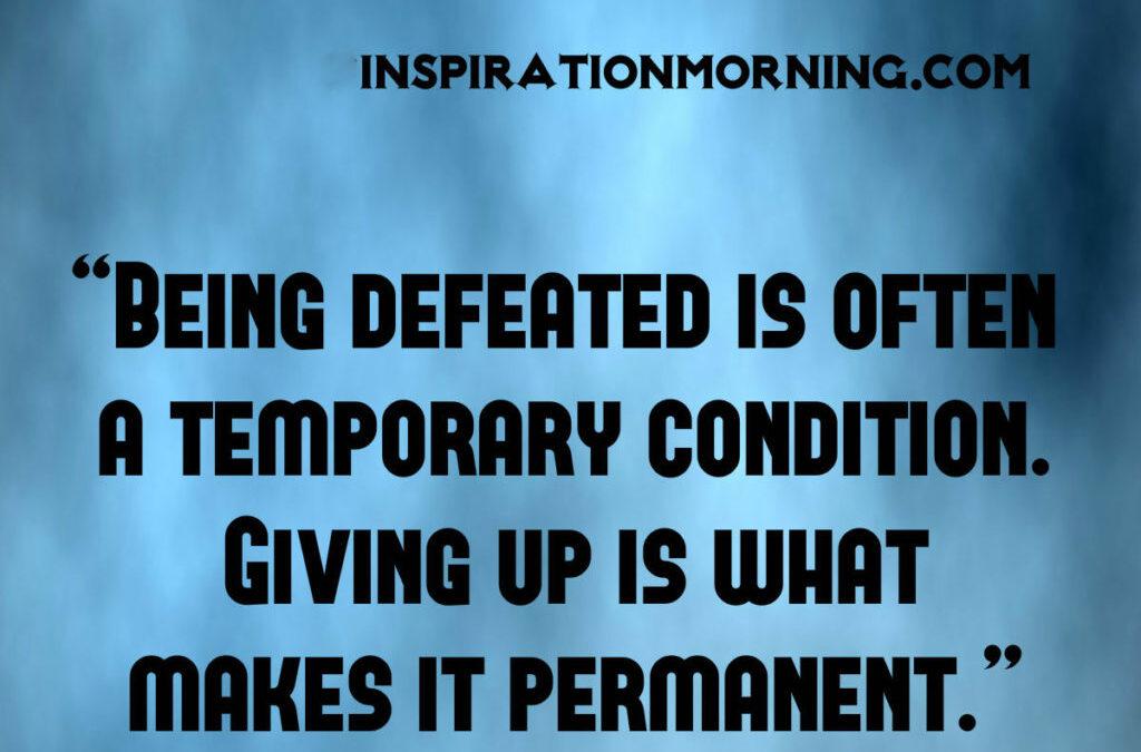 Morning Inspiration January 31, 2017