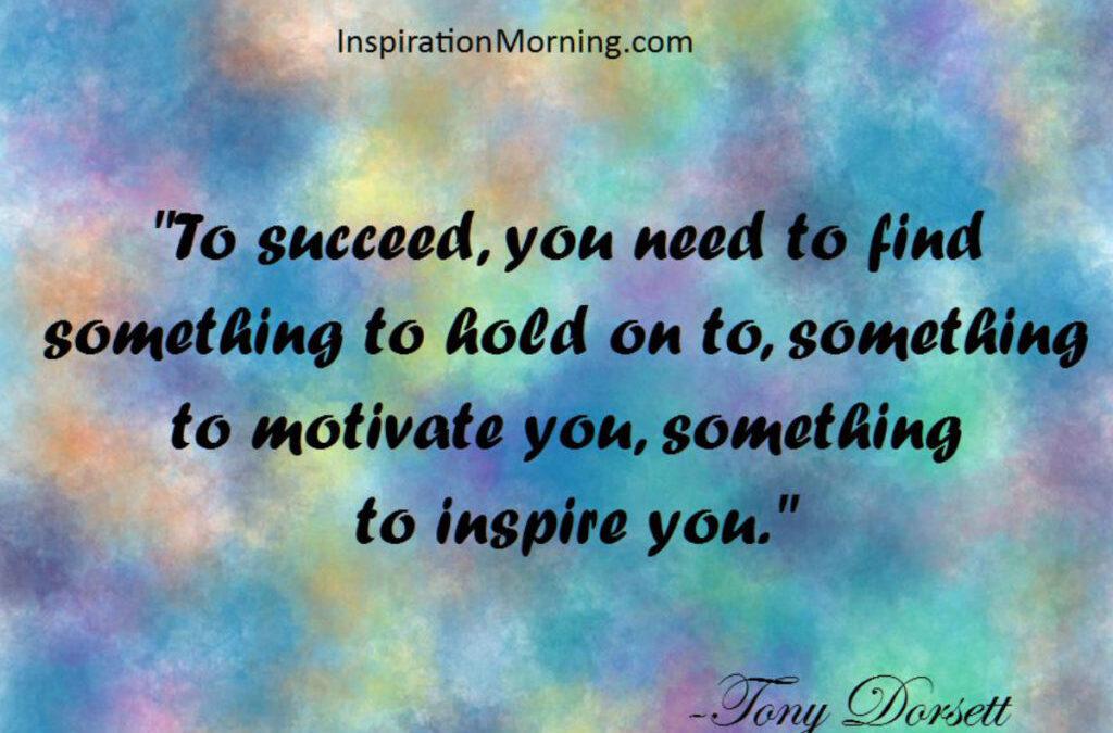 Morning Inspiration September 27, 2017