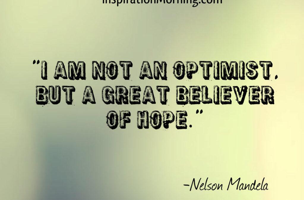 Morning Inspiration October 30, 2017
