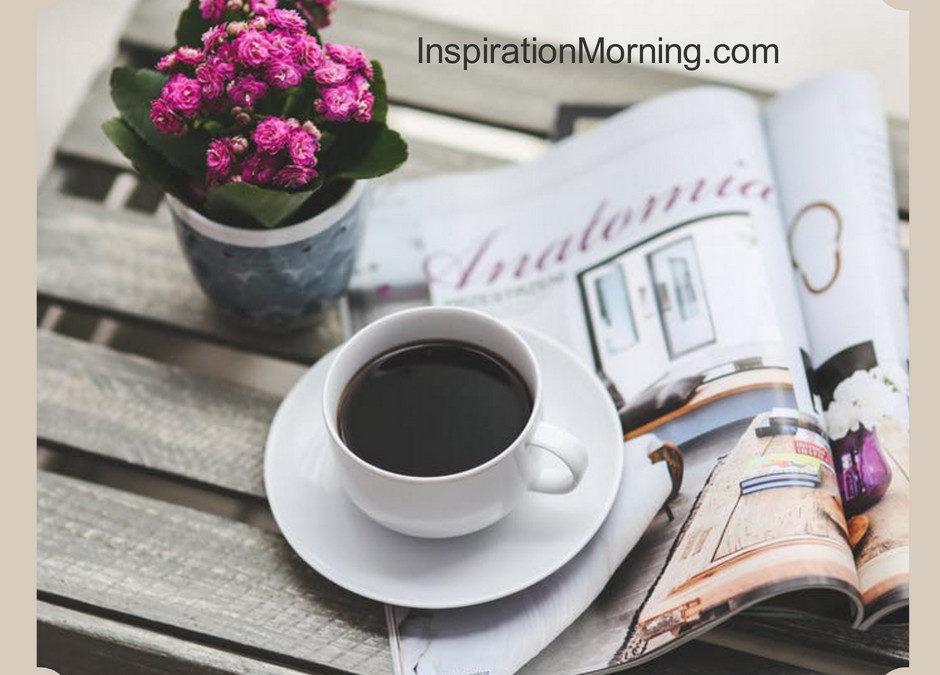 Morning Inspiration July 29, 2018