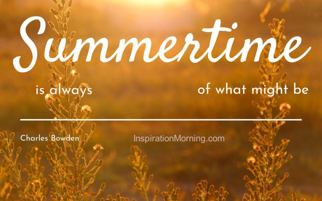 Morning Inspiration July 23, 2018