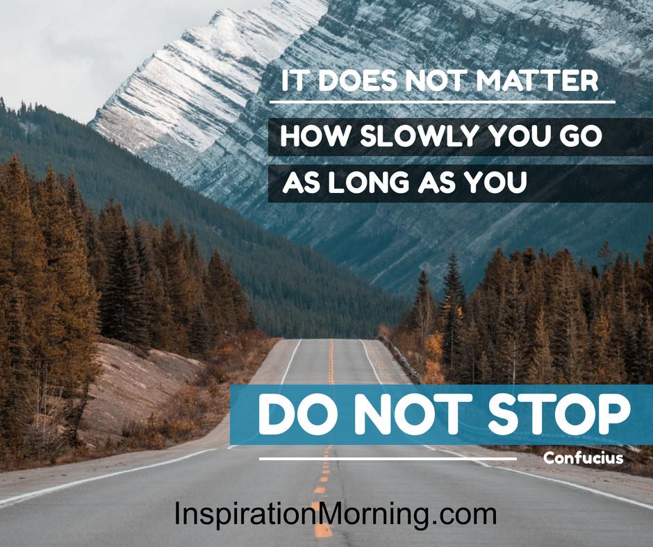 Morning Inspiration January 18, 2020